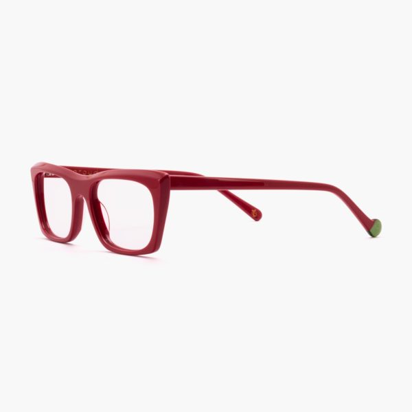 Malvarrosa sustainable fashion glasses in red