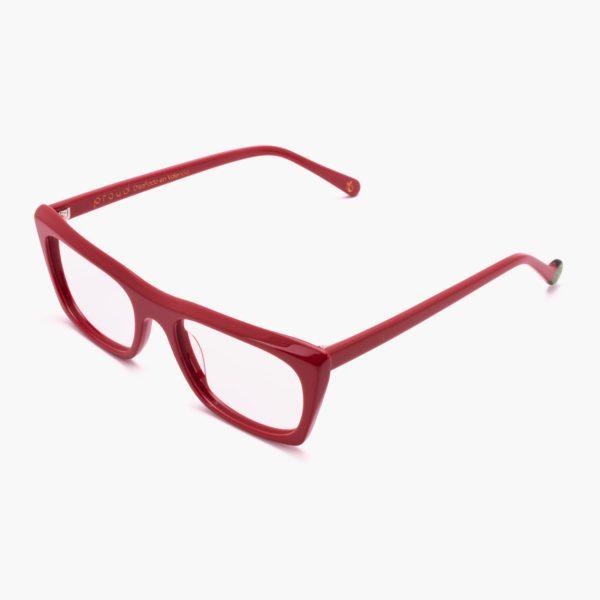 Sustainable fashion glasses Malvarrosa red