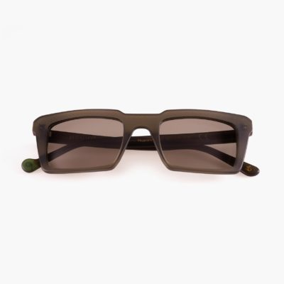 Nazatet gafas de sol compostables en color verde de Proud eyewear