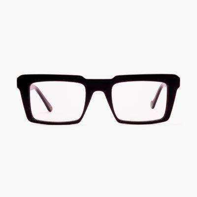 Tendencia en gafas graduadas sostenibles negro Nazaret