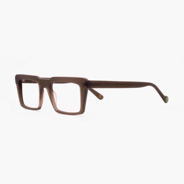Retro plastic free green design glasses