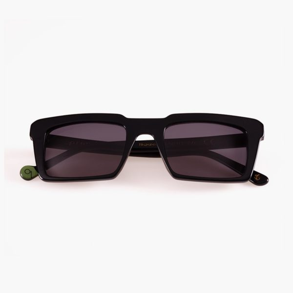 Compostable sunglasses in Nazatet Black by Proud eyewear