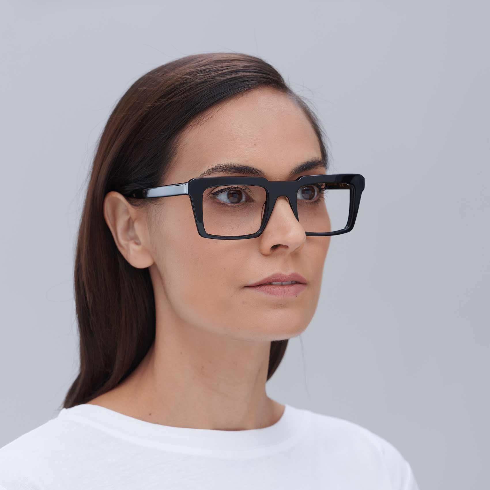 Gafas retro ecológicas con montura compostable