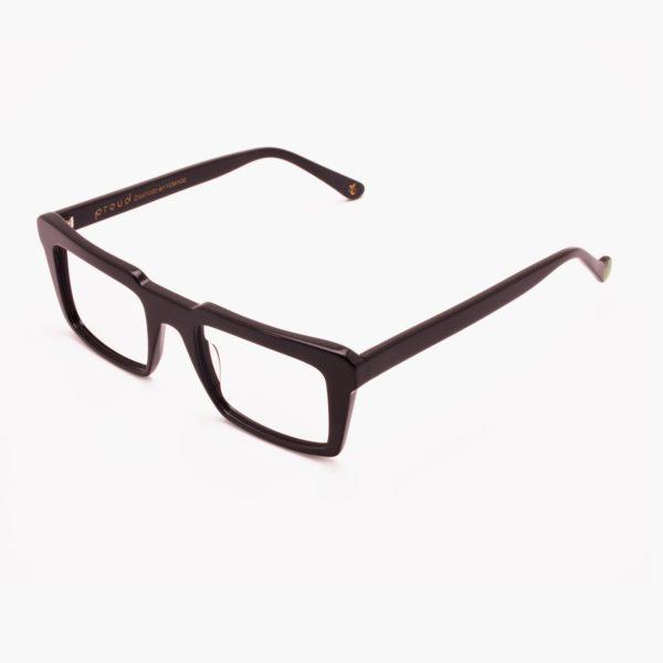 Black sustainable fashion glasses