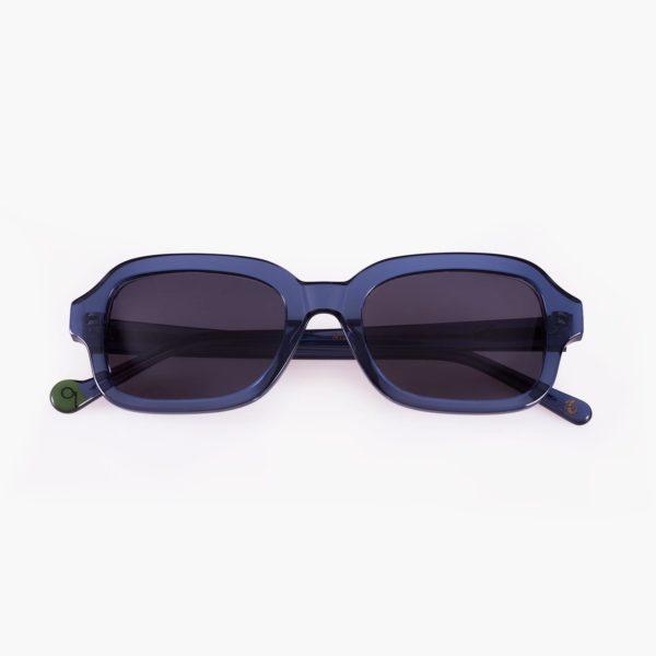 Gafa con lentes de sol amplias azules Ruzafa de Proud eyewear