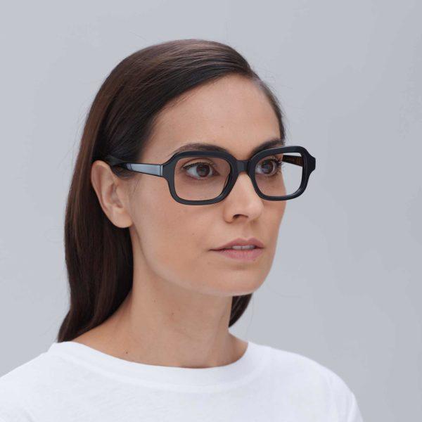 Ruzafa: Gafas compostables en color Negro