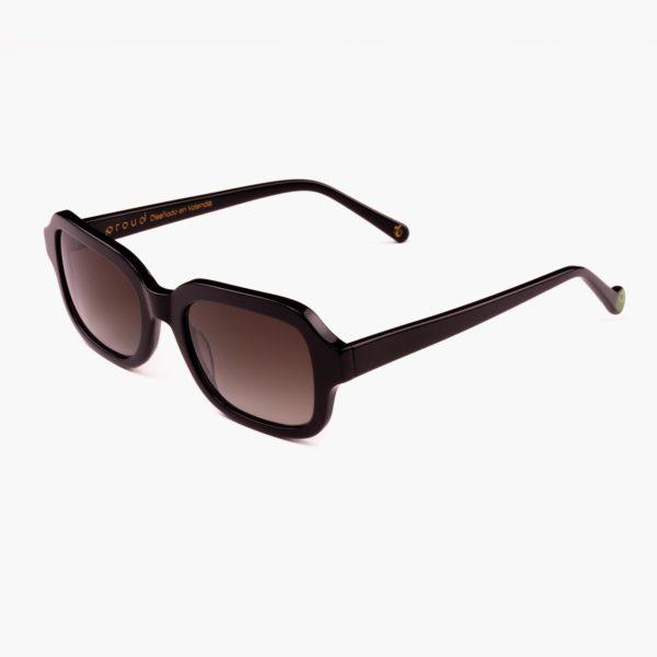 Gafas con lentes de sol amplias para mujer color Negro