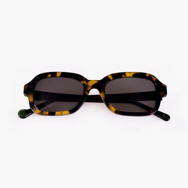 Gafa con lentes de sol amplias Ruzafa color Havana
